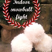 Make Your Own Indoor Snowball Fight