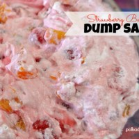 Strawberry Banana Dump Salad