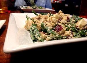 quinoa + kale salad | polka dots and picket fences