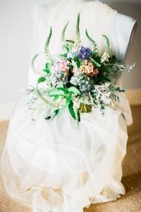 organic wedding flowers