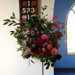 garden-inspired september funeral flowers