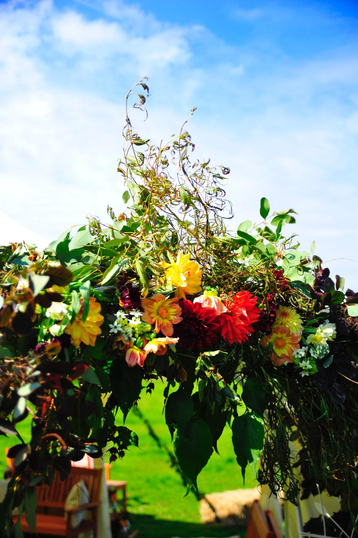 Christening Flowers – September, Cumbria
