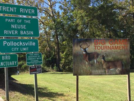 Big Game Hunt Signs are up!