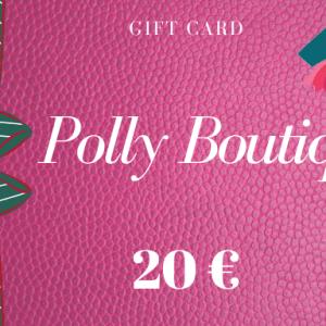 Carta regalo – Buono regalo da 20 euro