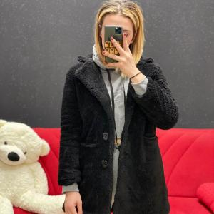 Teddy corto nero
