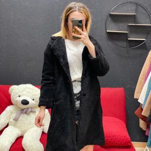 Teddy lungo nero