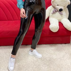 Legghins in vernice black