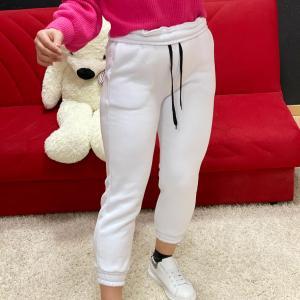 Pantalone tuta white