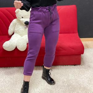 Pantalone candy viola