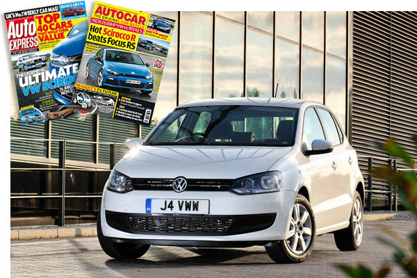 2009 Volkswagen Polo Autocar and Auto Express 6 November Issues