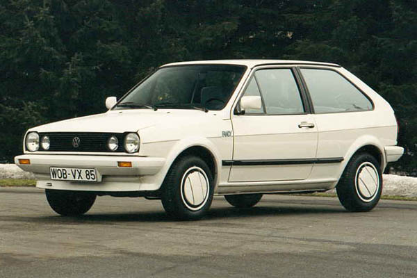 1987 Volkswagen Polo Coupe Fancy