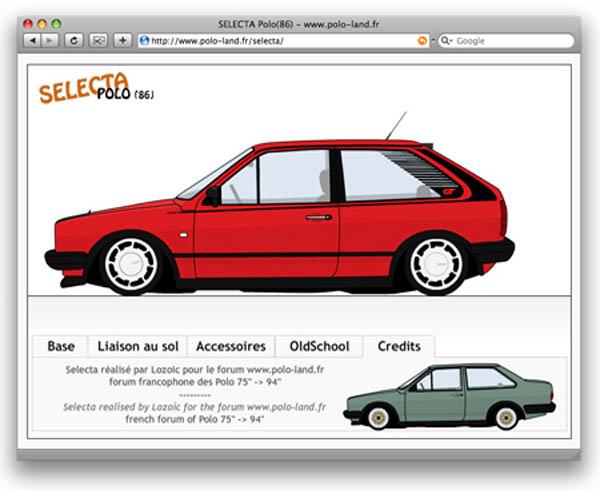 Polo Selecta Mk 2