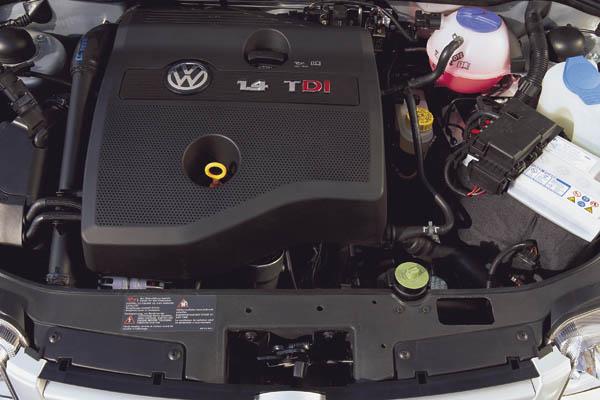 1999 Volkswagen Polo TDI engine