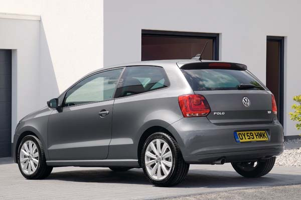 2009 Volkswagen Polo three-door