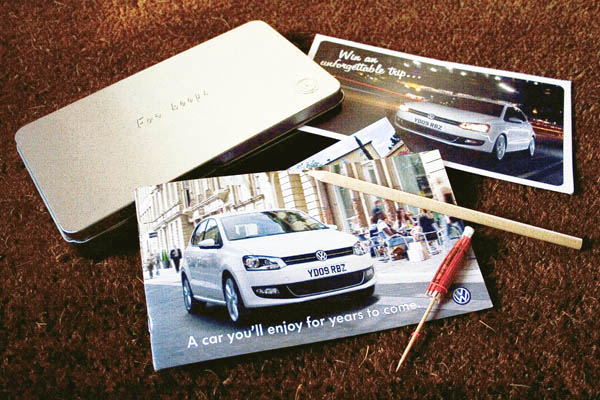 2009 Volkswagen Polo promotional mailer