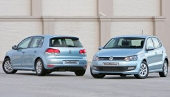 2011 Volkswagen Polo and Golf BlueMotion (South Africa)