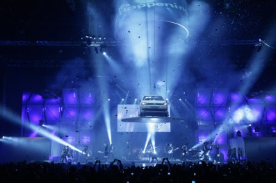 2010 Volkswagen Polo Vivo launch at the Sun City Superbowl, South Africa