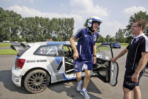 2012 Volkswagen Polo R WRC: FC Schalke 04 training day