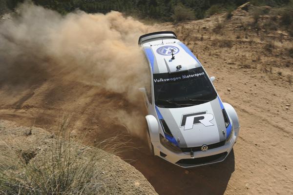 2012 Volkswagen Polo R WRC gravel test, Spain