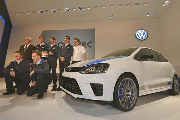 2013 Volkswagen Polo R WRC Street: Monaco launch