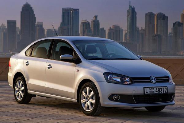 2013 Volkswagen Polo Sedan (Middle East)