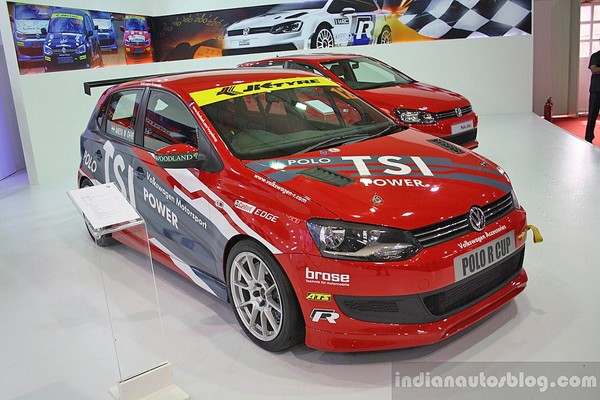 2012 Volkswagen Polo SR Edition and Polo R-Cup India racer