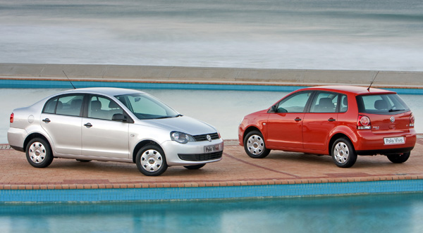 2012 Volkswagen Polo Vivo sedan and hatchback