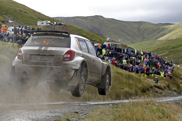 2012 Rally of Great Britain: Sébastien Ogier and Julien Ingrassia