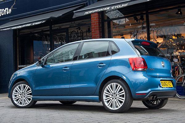 2013 Volkswagen Polo BlueGT (UK)