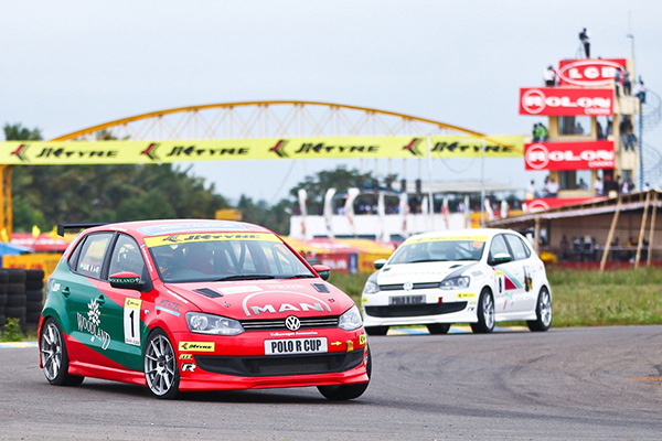 Volkswagen Polo R-Cup India 2013: Round 1, Coimbatore