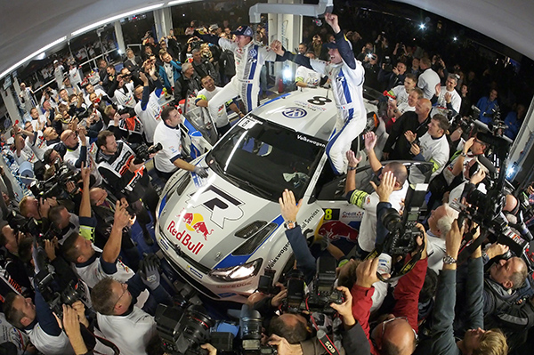 2013 Volkswagen Polo R WRC: Ogier and Ingrassia crowned 2013 World Rally Champions