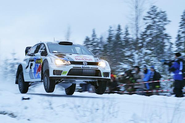 2013 Rally Sweden: Volkswagen Polo R WRC
