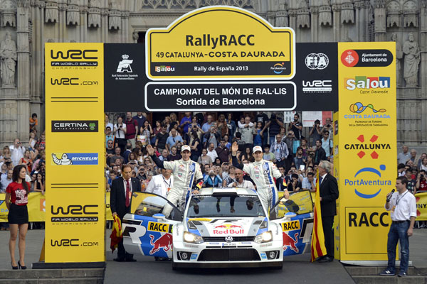 2013 Volkswagen Polo R WRC: Rally Spain, Ogier/Ingrassia