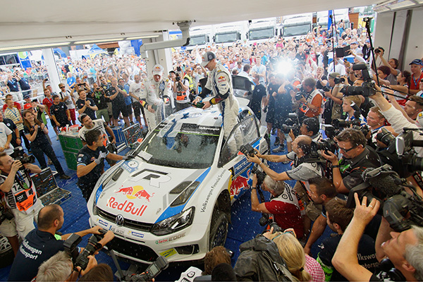 2014 Volkswagen Polo R WRC, Rally Finland: Latvala/Anttila