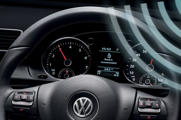 Volkswagen 'Coffee Convenience' function