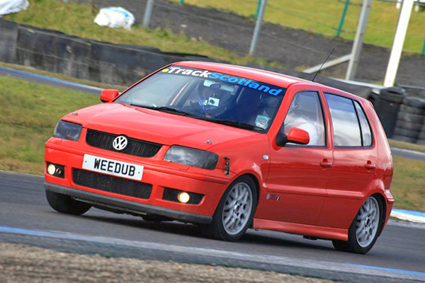 Davie Fraser's 2000 Polo GTI 6N2: 2012 track day