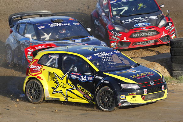 2014 Red Bull Global Rallycross Championship, Daytona: Foust