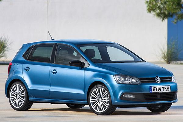 2014 Volkswagen New Polo BlueGT (UK)