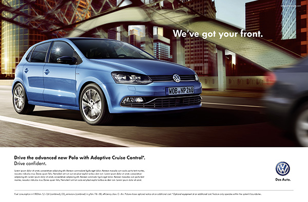 2014 Volkswagen Polo: 'Drive Confident' advertising campaign