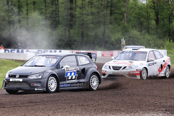 Marklund Motorsport-prepped P G Andersson Polo RX takes on Swedish RX