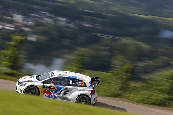 2014 Volkswagen Polo R WRC, Rally Germany: Latvala/Anttila