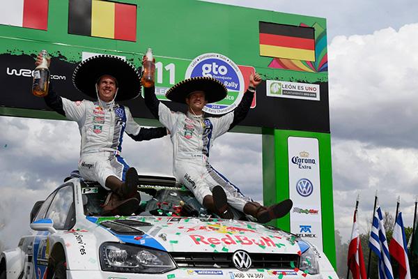 2014 Volkswagen Polo R WRC, Rally Mexico: Ogier/Ingrassia