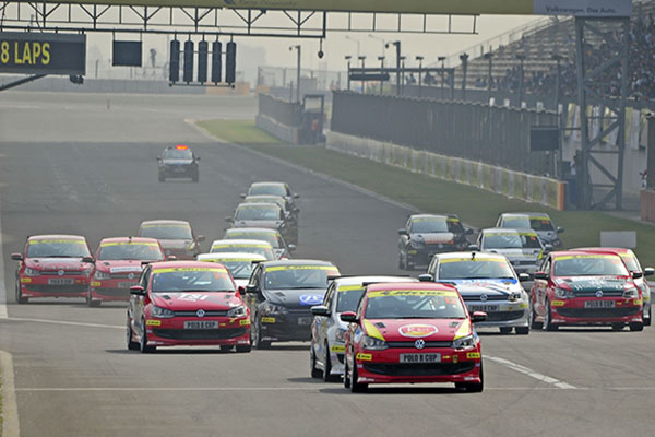 Volkswagen Polo R-Cup India 2014, Round 3, Greater Noida