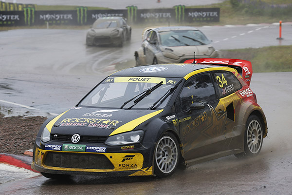2014 Volkswagen Polo RX, World RX of Finland: Foust