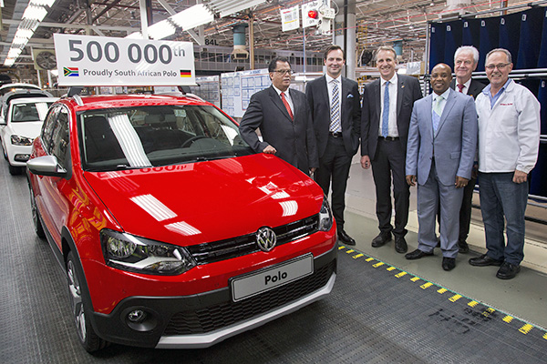 5000,000th South African-built Volkswagen Polo