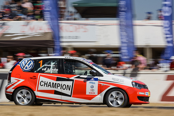 Championship leader Sheldon van der Linde won both races