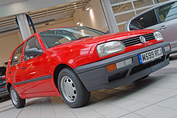 It was a super-eco version of the standard diesel Golf