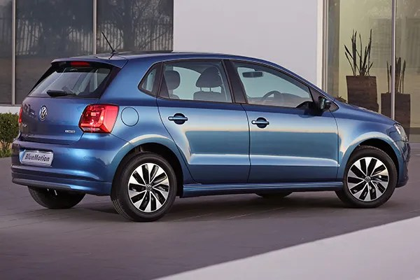 2015 Volkswagen Polo BlueMotion TSI (South Africa)