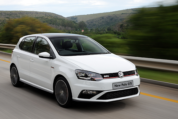2015 Volkswagen Polo GTI (South Africa)
