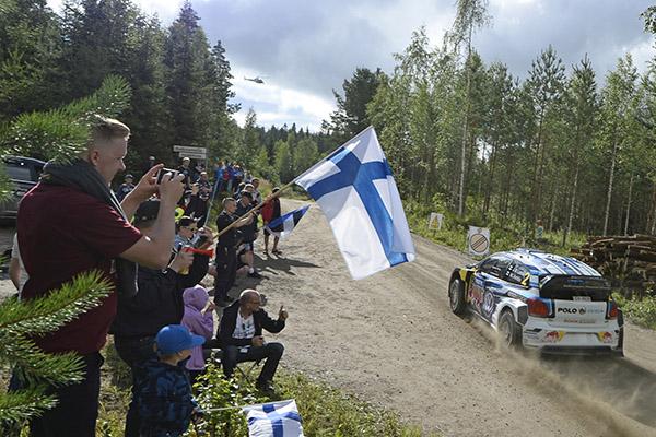 2015 Volkswagen Polo R WRC, Rally Finland: Latvala/Anttila